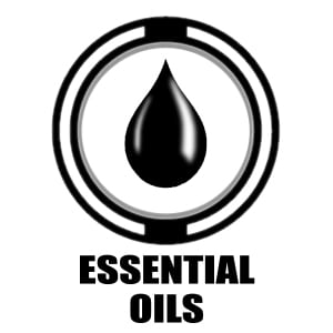 Essential Oils icon | droplet graphic