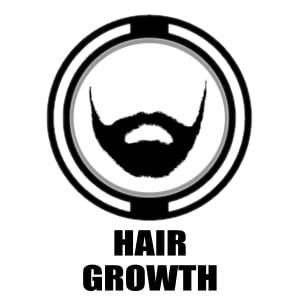 Hair Growth icon   cbd beard oil graphic