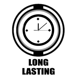 Long Lasting icon | clock graphic