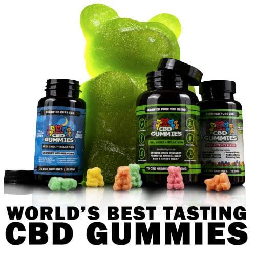 CBD Gummy Bears   Original, Sleep & High Potency Hemp Gummies