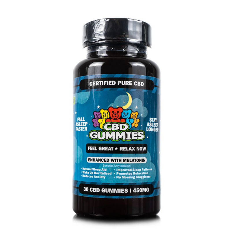 30-count sleep gummies