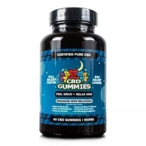 60-count CBD Sleep Gummies from Hemp Bombs