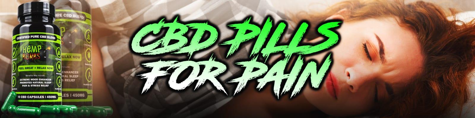 CBD Pills for Pain