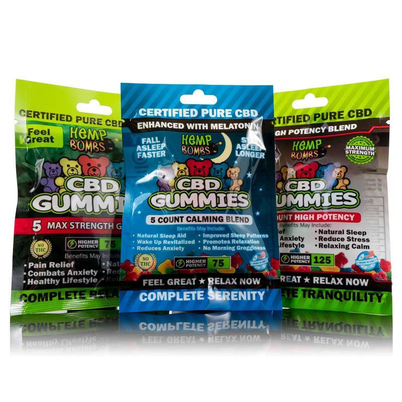 gummy sample pack