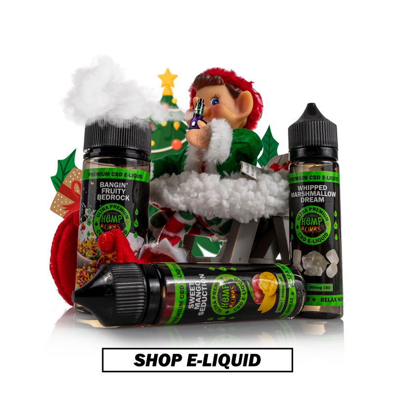 CBD E-Liquid for Holiday Gifting