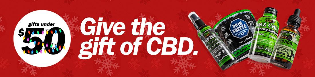 CBD Gift Ideas Under $50