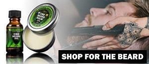 CBD Beard Products for Holiday Gifts