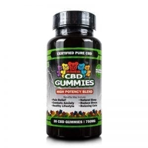 30-count High Potency CBD Gummies