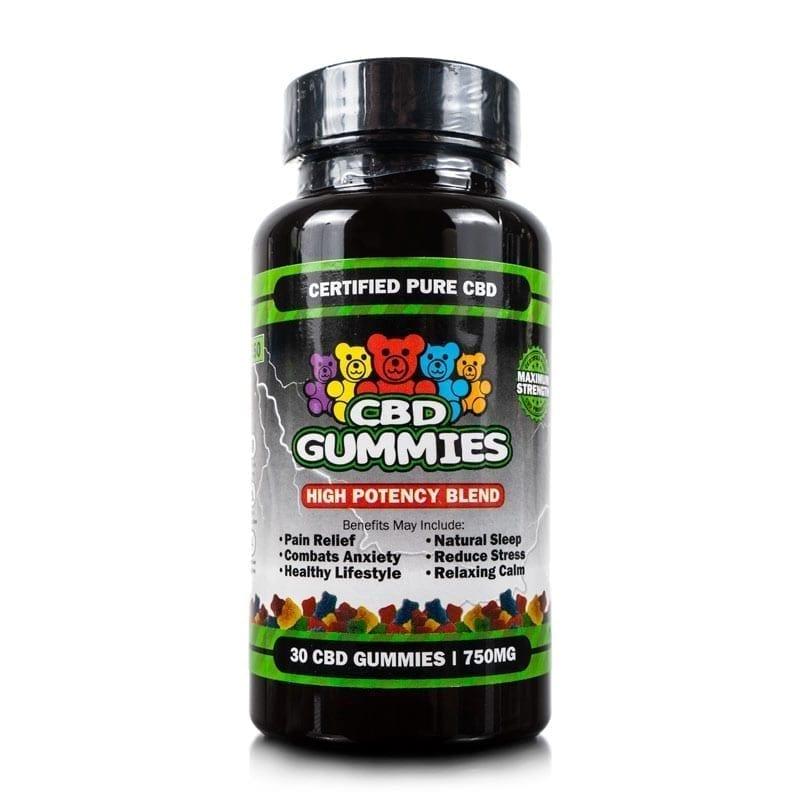 30-count High Potency CBD Gummies