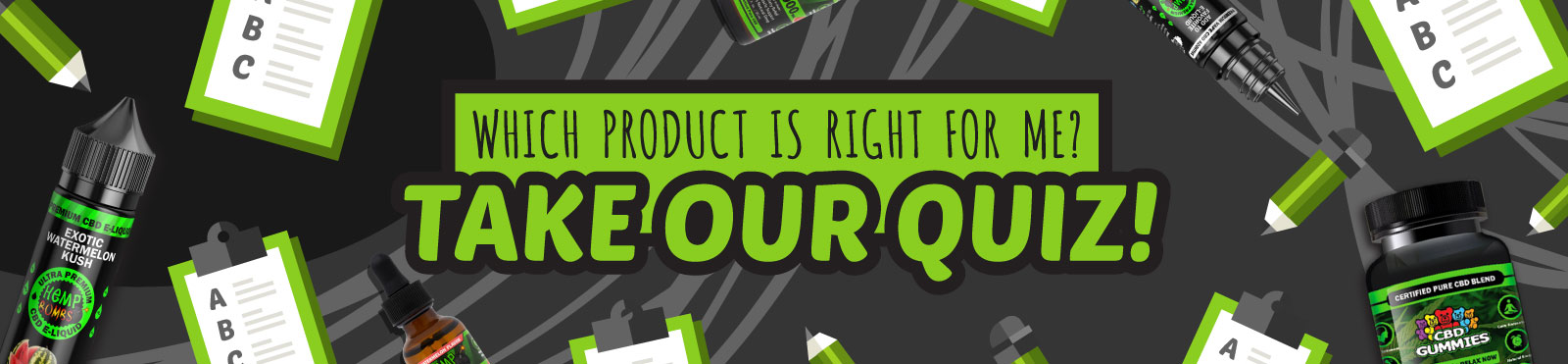 WHich product is right for you - Quiz