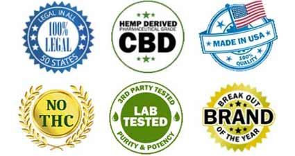Hemp Bombs Certified CBD Products