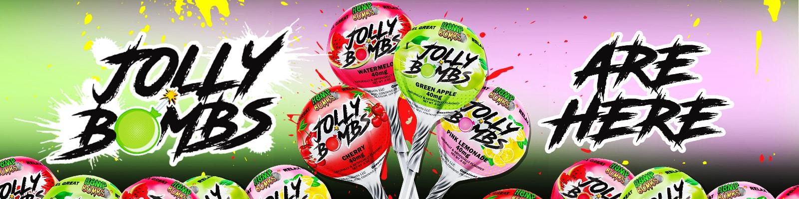 hemp bombs jolly bombs - cbd lollipops