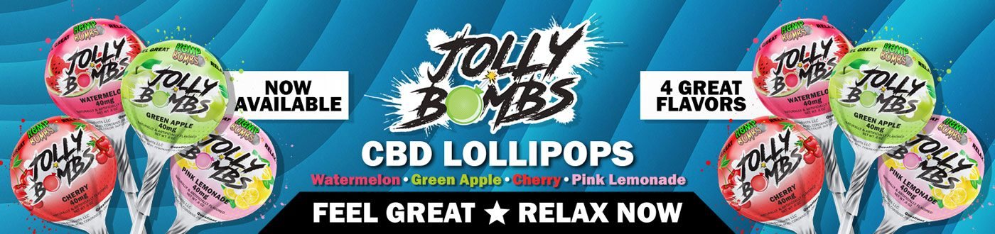 hemp bombs jolly bombs - cbd lollipops