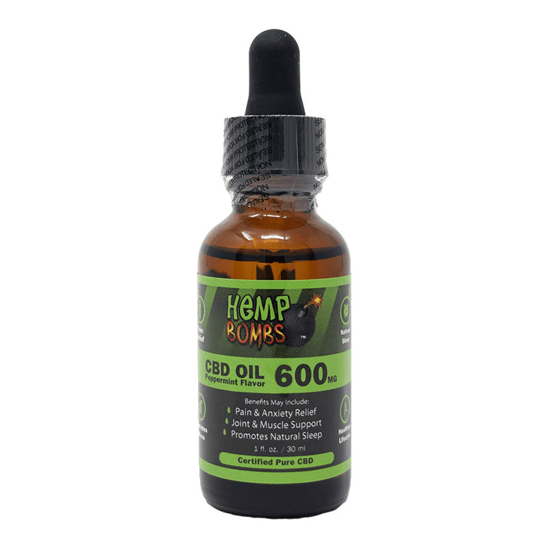 600mg oil front