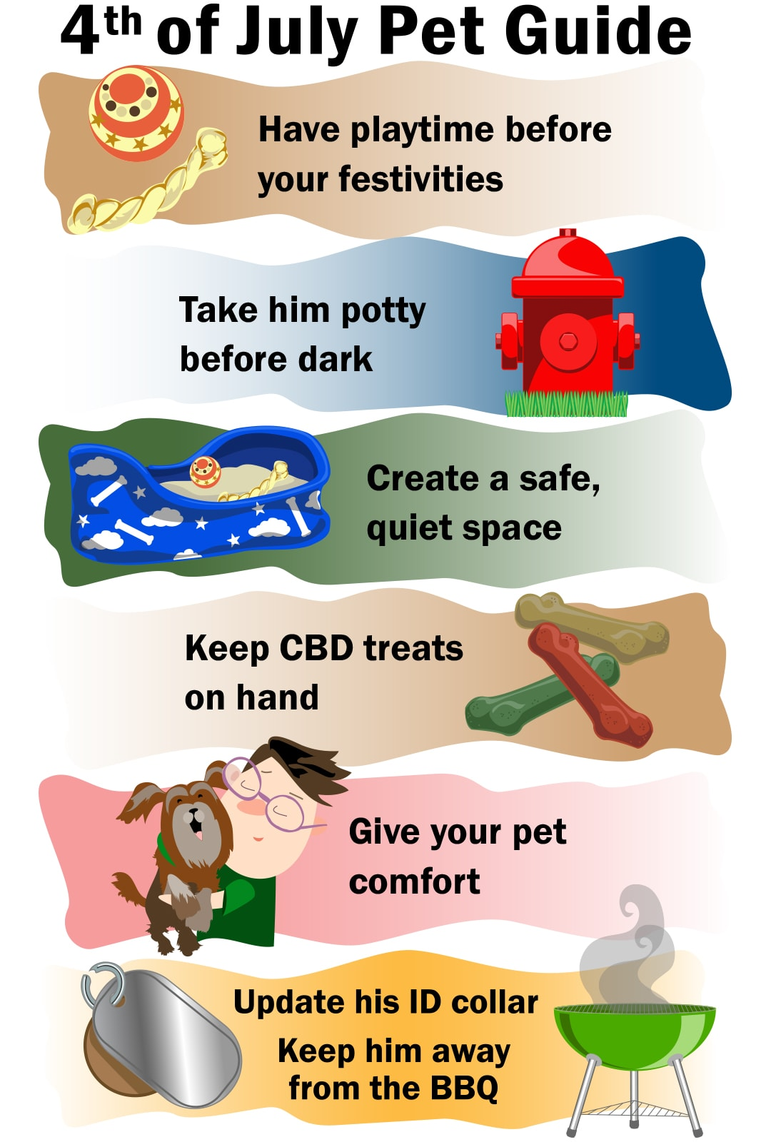 Tips for Pet Safety on the Fourth of July