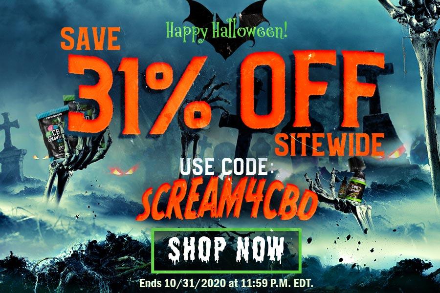 CBD Products - Halloween Sale